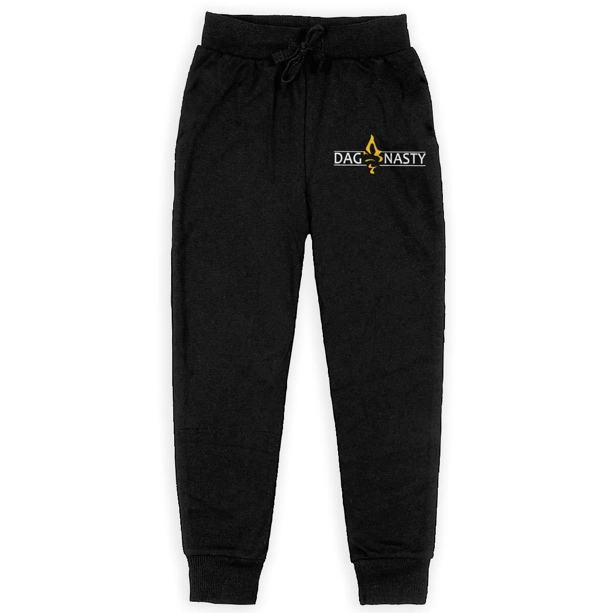 Big Boys Girls Casual Jogger Soft Training Pants Elastic Waist Deftones Logo