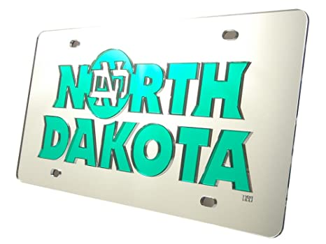 info for 2aa39 e586a Image Unavailable. Image not available for. Color  North Dakota Fighting  Sioux Silver SD90460 Laser Tag ...