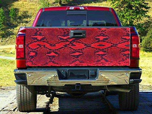 Tailgate Skin - Snake Skin print Tailgate Wrap, Truck Decal, Tailgate Sticker gc2634