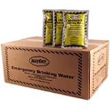 Mayday Emergency Water Pounches Case of 100. Emergency Preparedness, Survival and Backpacking