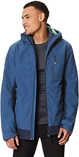 TALLA M. Regatta Wentwood Iii 3 In 1 Waterproof And Breathable With Zip-out Fleece - Chaqueta Hombre