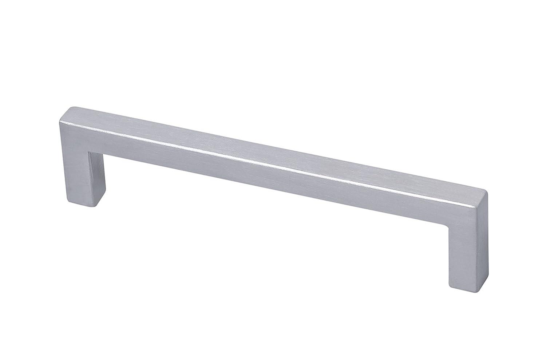 74 x 10 x 64 mm Gedotec Tirador de Barra Manija de Muebles Tirador Acero Inoxidable Mate Pulido