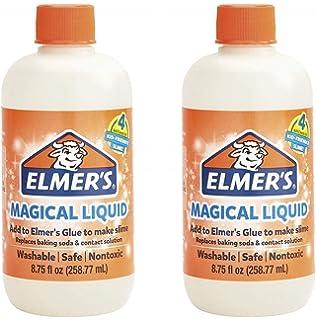 Amazon com: Elmer's Slime Activator | Magical Liquid Slime