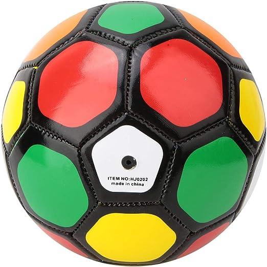Aramox Balón de fútbol tamaño 2, 13 cm/5.1 Pulgadas Niños al Aire ...