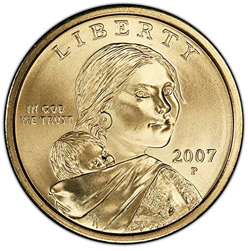 2007 P Satin Finish Sacagawea Dollar Choice Uncirculated US Mint
