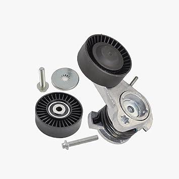 BMW Polea Tensor De Correa w/+ tornillo + Calidad Premium de rodillo tensor 30314/35860: Amazon.es: Coche y moto