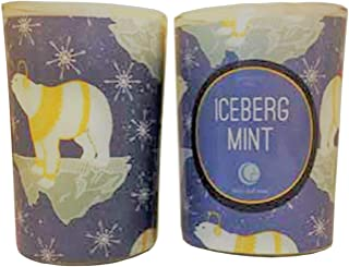 product image for Way Out Wax Holiday Candle Iceberg Mint Glass Tumbler Net Wt. 7 Ounces