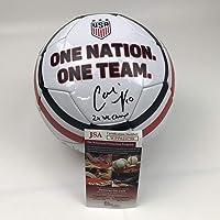 $134 » Autographed/Signed Carli Lloyd 2x WC Champs White Team USA USWNT Soccer Ball JSA COA