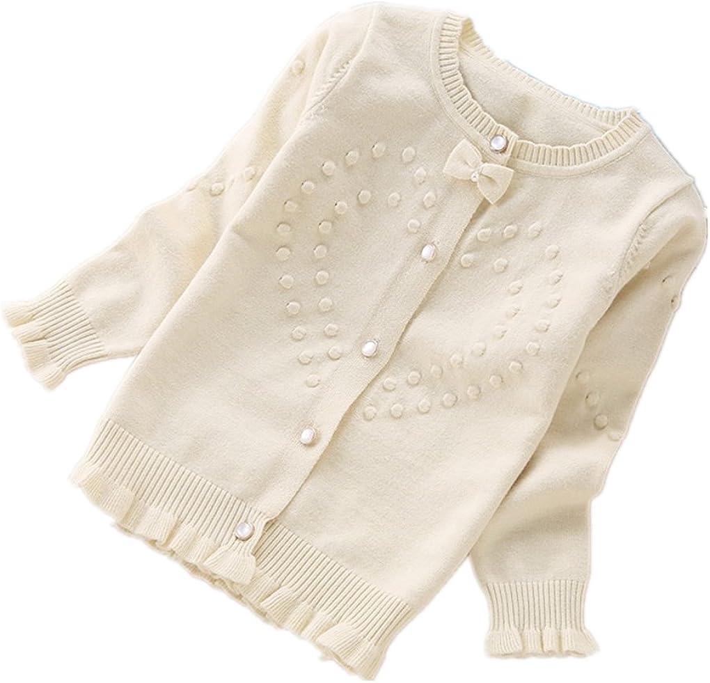 Nine Minow Children Sweaters Girls Cotton Cardigans Sweaters 4-16 Years