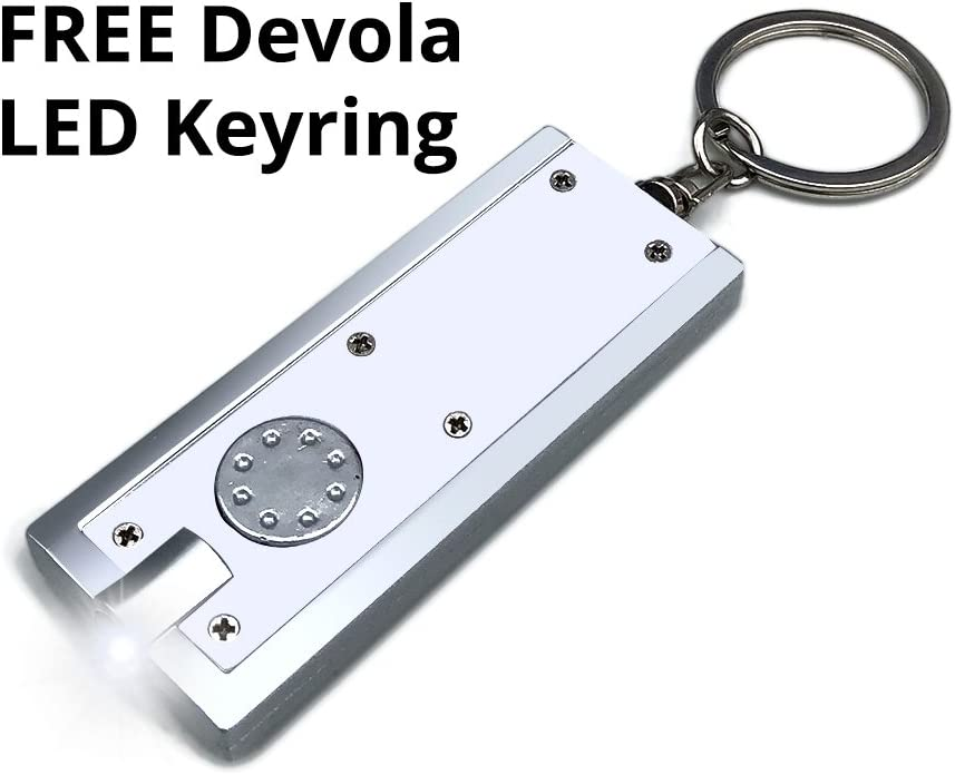 Manrose Metcon in-Line Variable Fan Speed Controller Free Devola Led Keyring.