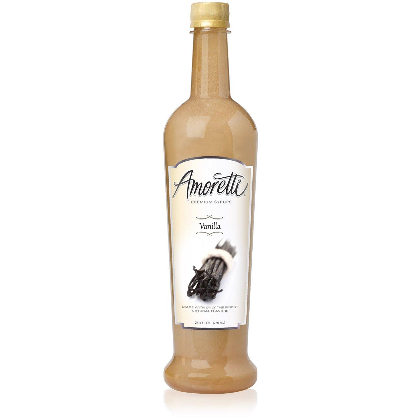 Amoretti Premium Syrup, Vanilla, 25.4 Ounce