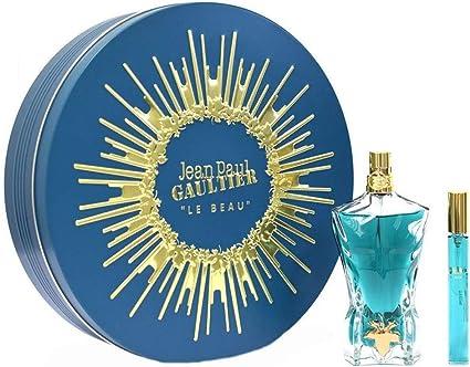 Jean Paul Gaultier JPG Le Beau - Estuche de 75 ml Eau de Toilette & 10 ml EDT Travel Spray: Amazon.es: Belleza