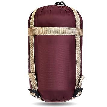 SANVA - Saco de dormir ultraligero de lana para el verano. Con bolsa de transporte