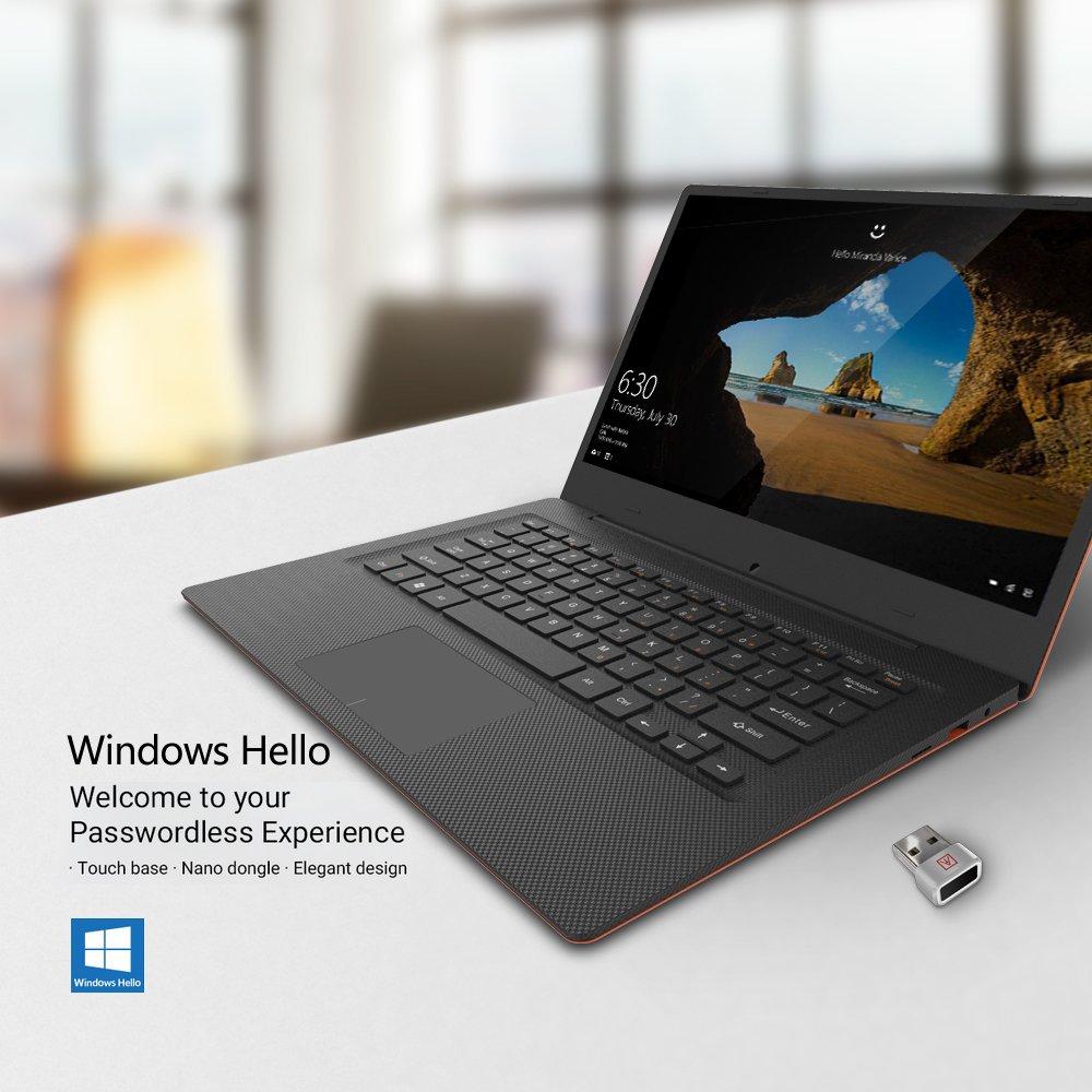 Lector de huellas dactilares Benss PIN para Windows 10 Hello Laptop/PC/sobremesa con reconocimiento de huellas dactilares de 360 grados con certificación ...
