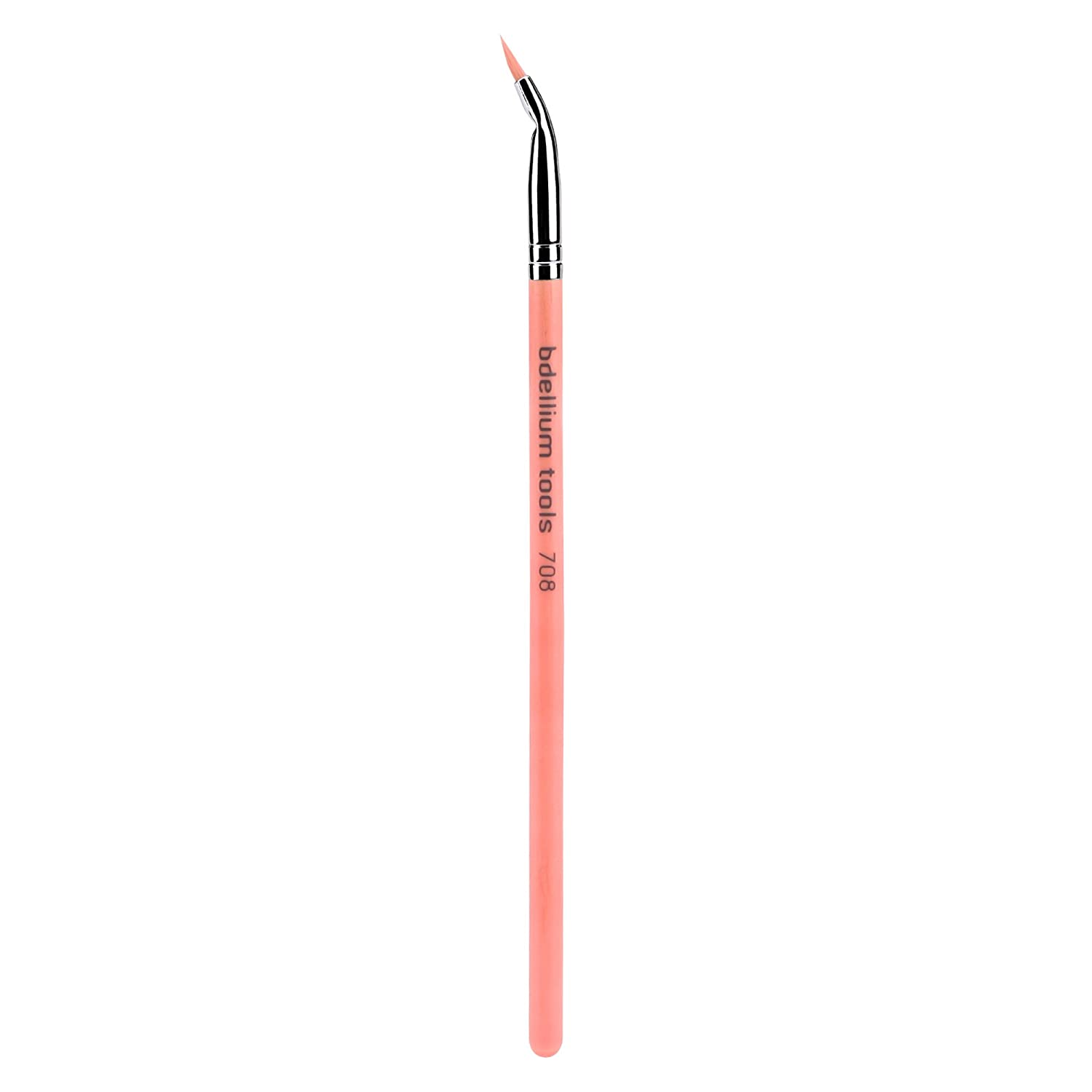 Bdellium Tools Professional Eco-Friendly Makeup Brush Pink Bambu Series - Bent Eyeliner 708: Beauty
