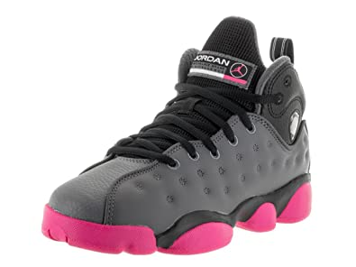 13cacb8fbf7ad6 JORDAN BOYS JUMPMAN TEAM II G SNEAKER Dark Grey - Footwear Sneakers 6.5Y