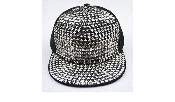 CWH-hat Pegatinas de Color Punk Wind Gorra de Béisbol Cuadrada ...