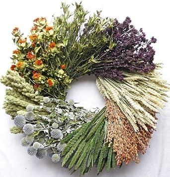 Vintage Grain Decorative Wreath