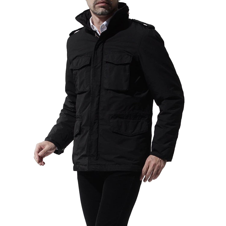 (アスペジ) ASPESI 中綿入り フィールドジャケット [並行輸入品] B078NWWQ97  ブラック M