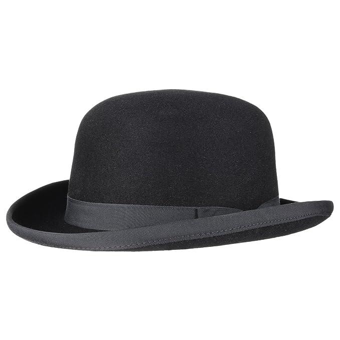 Lierys Sombrero de Fieltro Pelo Bombín by pelosombrero (54 cm - Negro) f614e28bd16