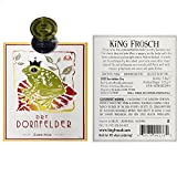 2010 King Frosch Dornfelder Dry 750 mL All Natural German Red Wine