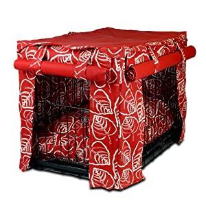 Amazon.com: Snoozer Cabana Pet Crate Cover with Pillow Dog