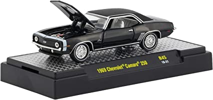 M2 Machines 1:64 Detroit Muscle Release 42 1969 Chevy Camaro RS COPO Yellow