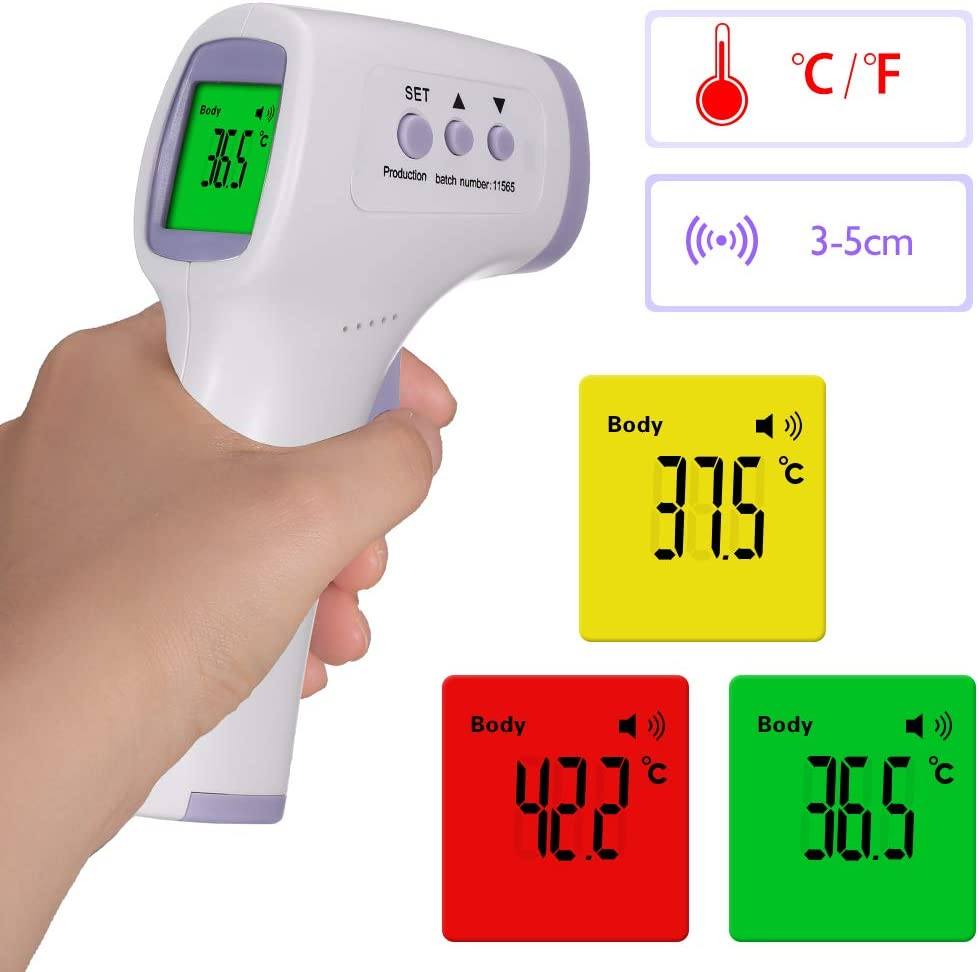 Tickas Non-Contact Infrared Digital Forehead Thermometer WAS £25.39 NOW £6.85 w/code AOJCKF4X @ Amazon