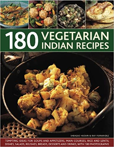 180 Vegetarian Indian Recipes
