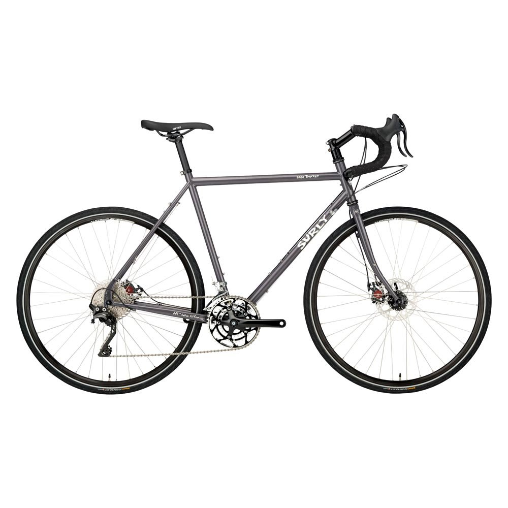Surly Disc Trucker 10sp Touring Bike 26' Wheel 54cm Frame Black Surly - Bikes/Frames