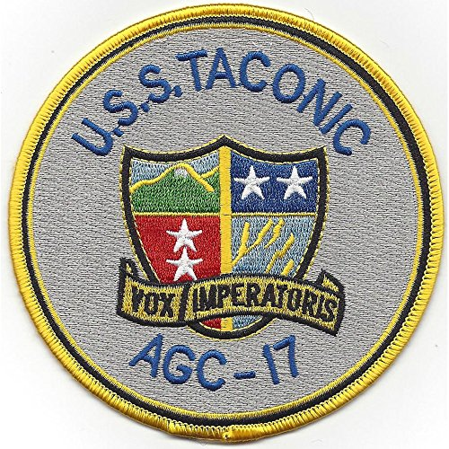 USS Taconic AGC-17 Amphibious Force Command Ship (Forces Command Patch)