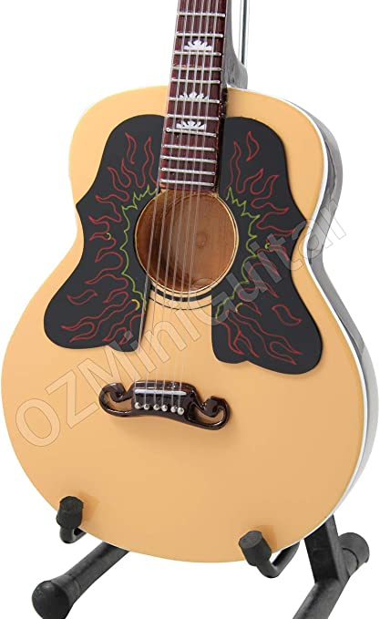 OZMiniGuitar Guitarra acústica en miniatura Rolling Stones ...