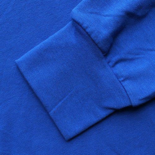 Mens Fabric Slim Gym Cotton Coton Manches Et Blue Spandex Hommes Longues Musclealive Bodybuilding Hoodies Pln dHqSpwHU