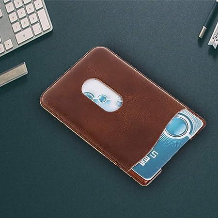 Rückentasche 3M Klebefolie Aufkleber Kreditkarte JENOR Leder