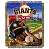 SF Giants OFFICIAL Major League Baseball, Home Field Advantage 48x 60 Woven Tapestry Throw
