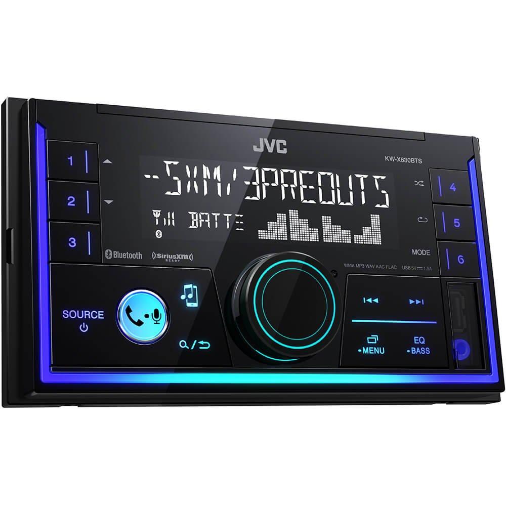 KW-X830BTS JVC 2-DIN Digital Media Receiver