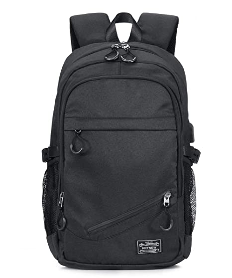 "7ce8f4b596 Image Unavailable. Image not available for. Color  KEYNEW 15.6"" Waterproof  Canvas Laptop Backpack for Men ..."