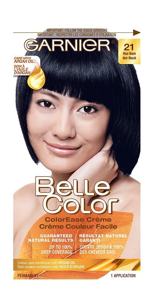 Garnier Belle Color Cream In 21 Blue Black Guaranteed Natural