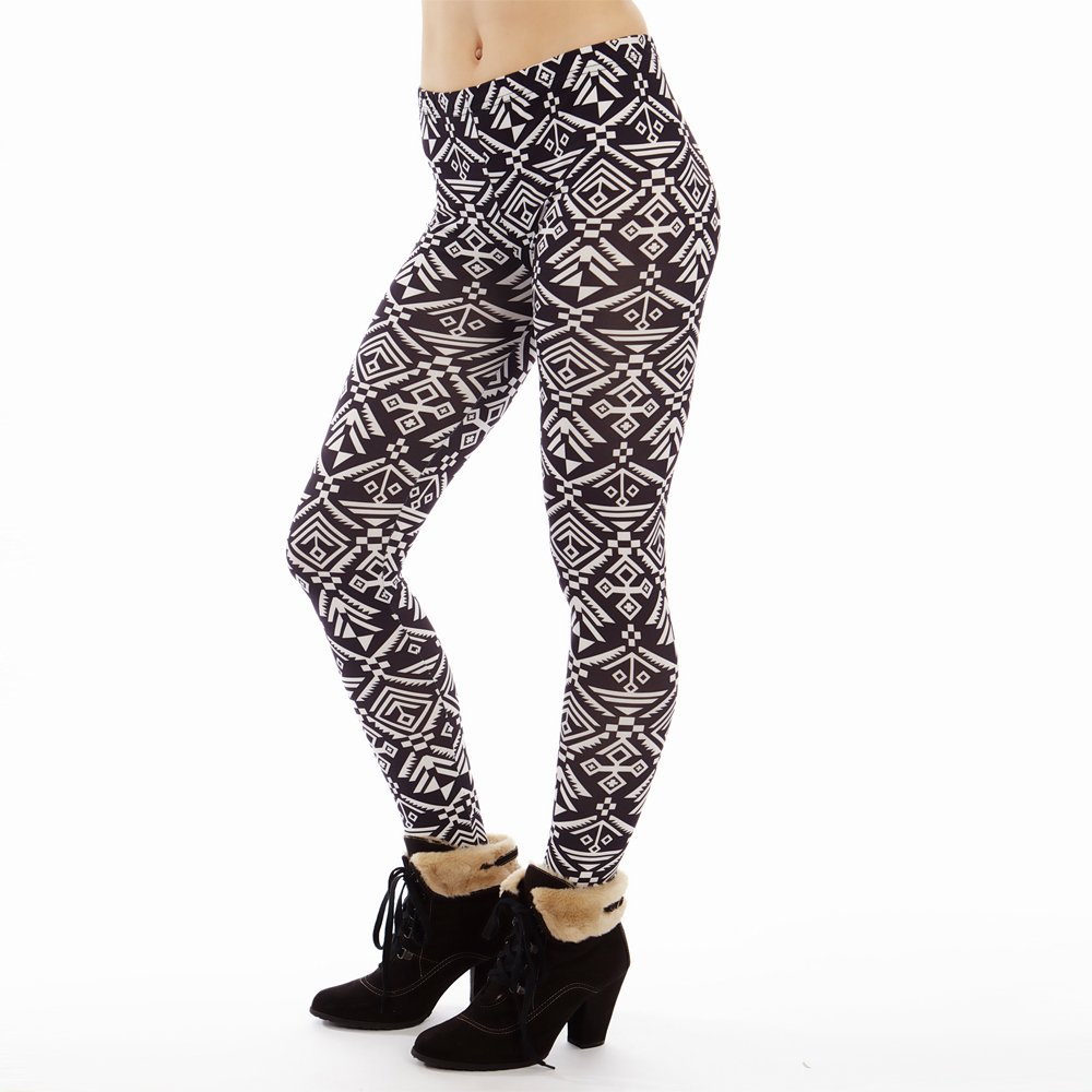 92a79a62a72bde Dinamit Jeans Big Girls Fun Printed Leggings: Amazon.ca: Clothing &  Accessories