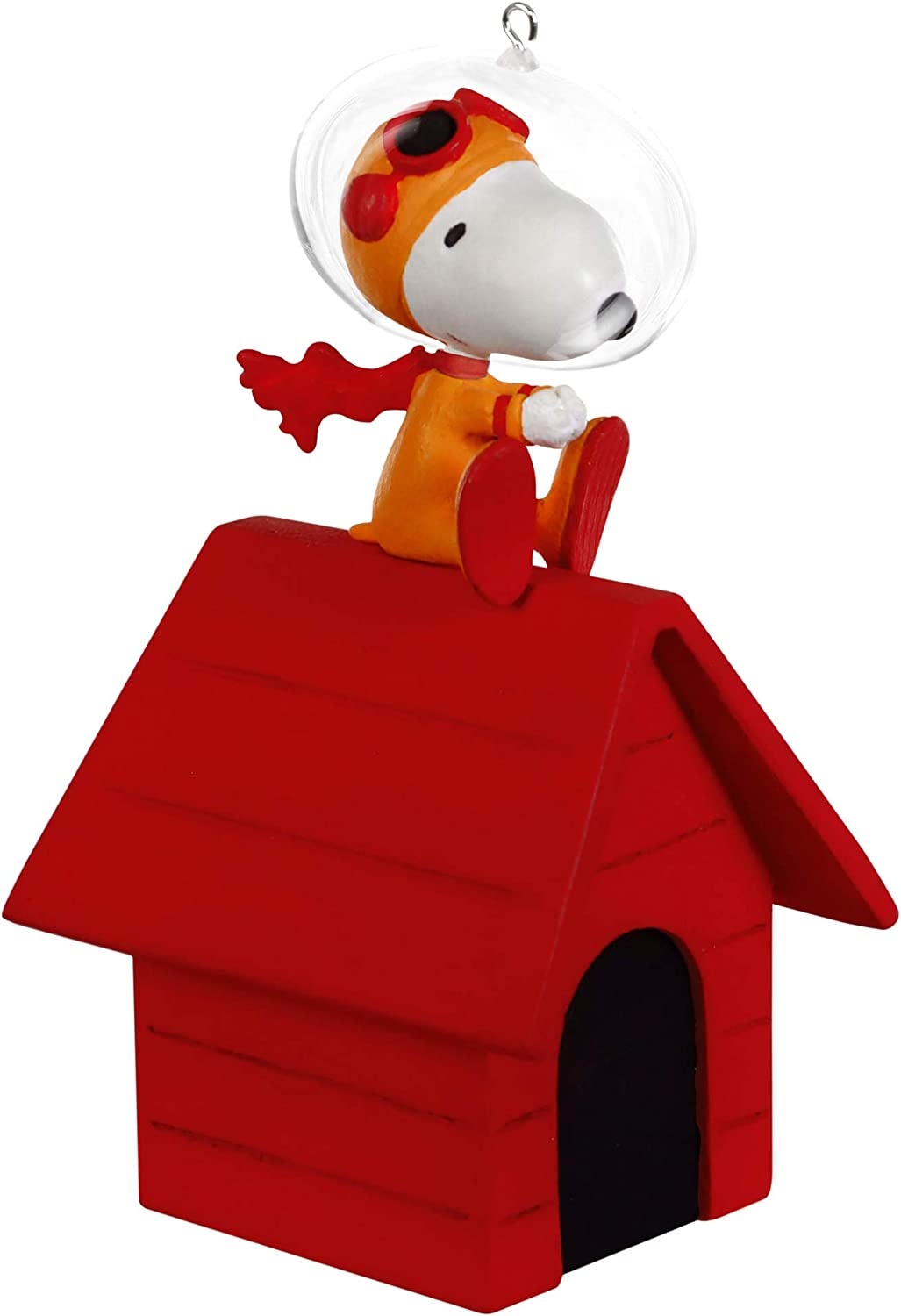 Hallmark Keepsake Christmas 2019 Year Dated The Peanuts Gang The Flying Ace Goes to Space Snoopy Astronaut Ornament