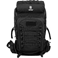 OneTigris Outdoor Rover 50L Pack, Expandable Tactical Backpack for Hiking, Trekking, Camping, Original Design