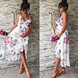 Women Dresses Lady Floral Maternity Pregnant
