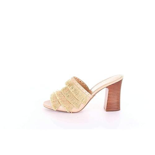 a6e2b65a275 MICHAEL MICHAEL KORS 40S8GHHP1D Sandalias Mujer Arena 36.5  Amazon.es   Zapatos y complementos