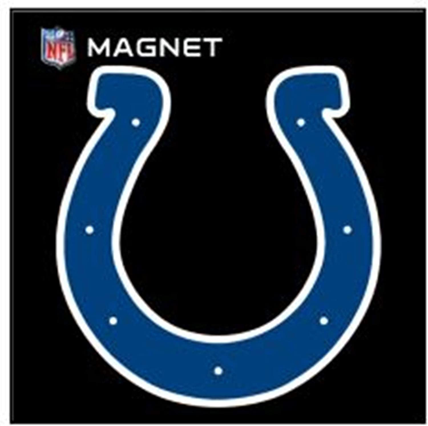 Amazon Com Stockdale Indianapolis Colts Sd 6 Logo Magnet Die Cut Vinyl Auto Home Heavy Duty Football Sports Outdoors