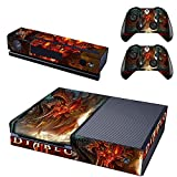 XBox One + 2 Controller and Camera Design Sticker Protector Set - Diablo 3 /XBox One by THTB