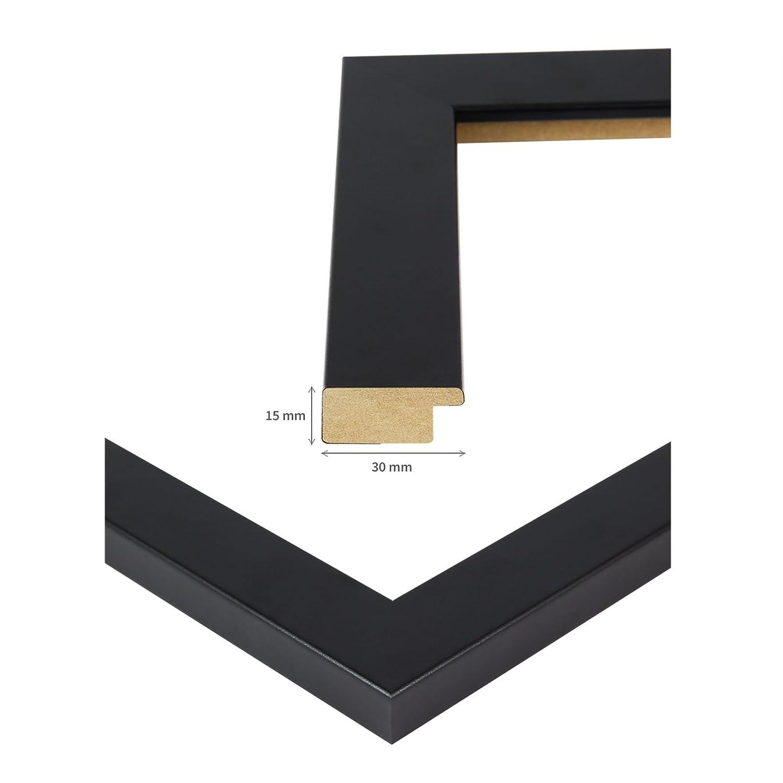 Amazon.de: Puzzlerahmen 50x70cm Schwarz für ca. 1000 Teile