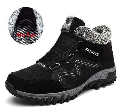 255a0ffce7ac Men Boots Winter with Fur 2018 Warm Snow Boots Men Winter Boots Work Shoes  Men Footwear