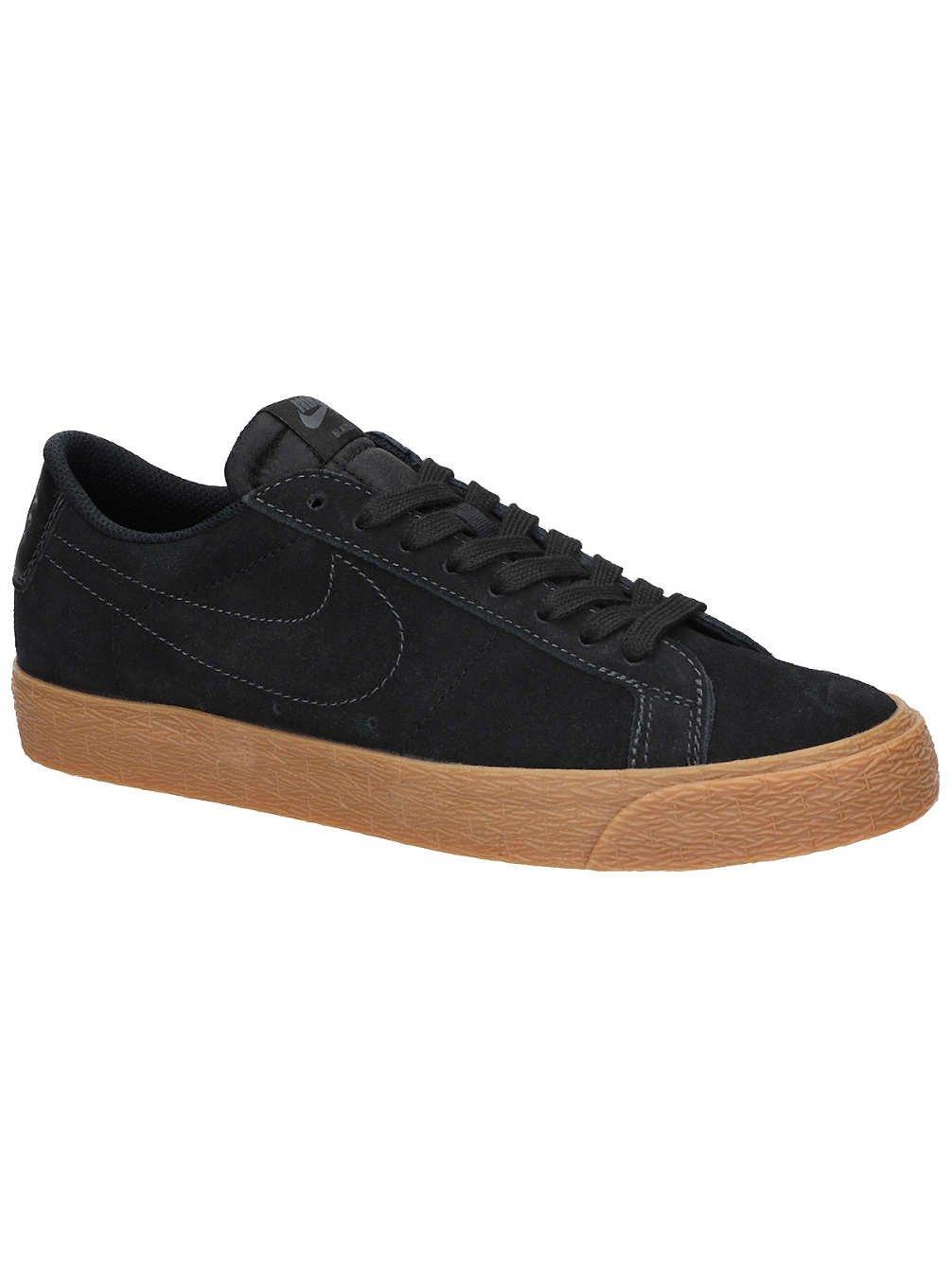 NIKE Men's SB Zoom Blazer Low Black/Black Anthracite Skate Shoe 11.5 Men US