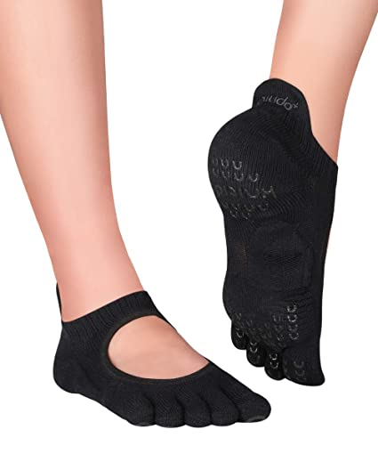 Knitido Plus Kumo Calcetines de Dedos para Yoga, Pilates, Danza