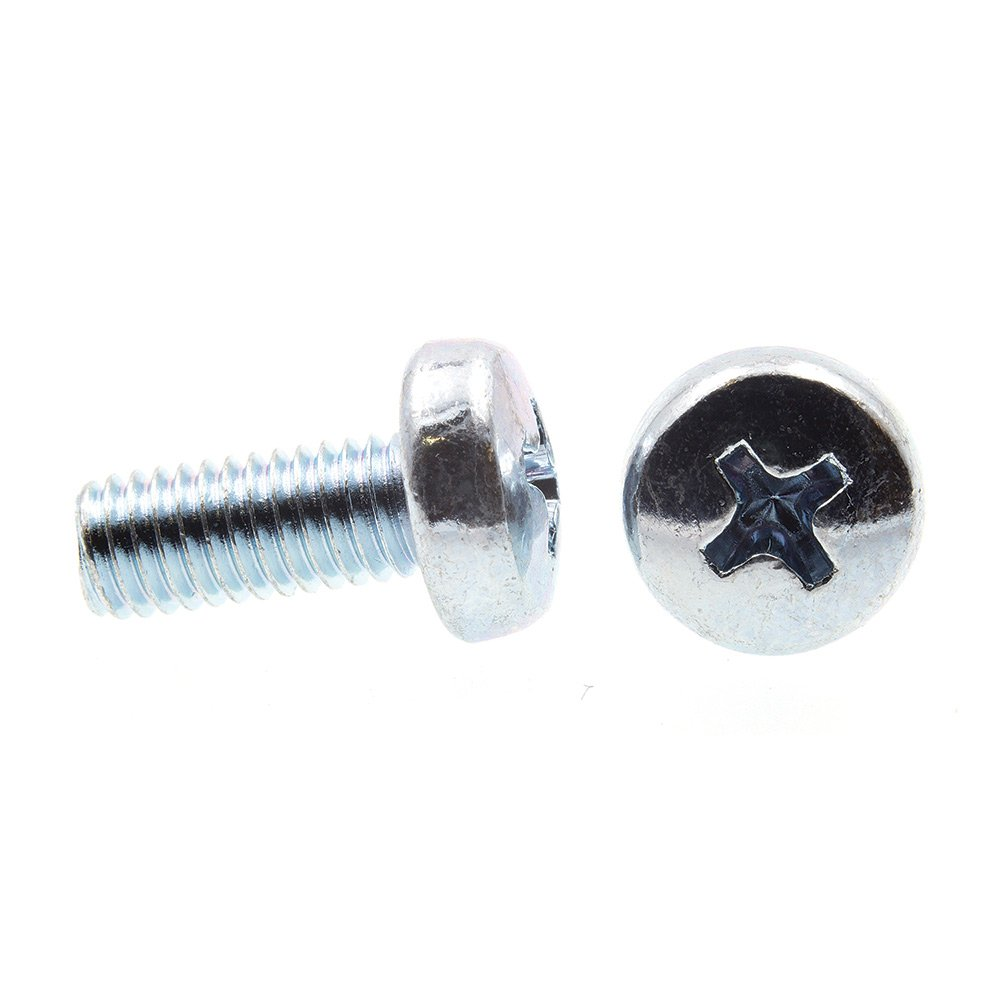 Metric 25-Pack Zinc Plated Steel Pan Head Prime-Line 9131211 Machine Screws Phillips Drive M4-0.7 X 16MM